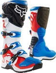(CLEARANCE) Fox 2018 Comp 5 Boots - Blue/Red