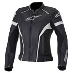 Alpinestars Stella GP Plus R Womens Leather Jacket Black/White