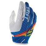 (CLEARANCE SALE) - SHIFT 2015 STRIKE MX GLOVES - BLUE