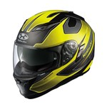 (CLEARANCE) - Kabuto Kamui Stinger Helmet - Fluo Yellow