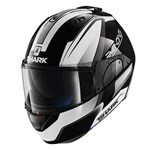 Shark EVO-ONE Astor ECE Helmet - Black/White/Anthracite