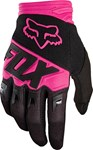 (CLEARANCE) FOX 2018 DIRTPAW RACE GLOVES - BLACK/PINK