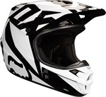 FOX 2018 V1 RACE ECE HELMET - WHITE/BLACK