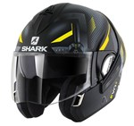 Shark Evoline Series 3 ECE Shazer Matte Black/Yellow/Silver Helmet