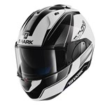 Shark EVO-ONE Astor ECE Helmet - White/Black/Anthracite
