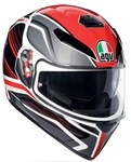 AGV K3 SV HELMET - PROTON BLACK/RED