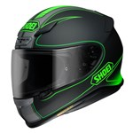 (CLEARANCE) Shoei NXR Flagger Helmet - TC-4 Green