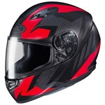 HJC CS-15 Treague MC-1SF Helmet (Red/Black)