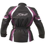 RST BROOKLYN Waterproof LADIES TEXTILE JACKET - Berry