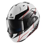 Shark EVO-ONE Krono ECE Helmet - White/Black/Red