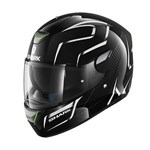 (CLEARANCE) Shark SKWAL FLYNN ECE Helmet - Black/White/Anthracite
