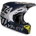 FOX 2018 V3 DRAFTR HELMET - LIGHT GREY