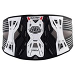 TROY LEE DESIGNS 3305 KIDNEY BELT YOUTH WHITE LG/XL