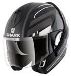 Shark Evoline Series 3 ECE Corvus Matte Black/White/Anthracite Helmet