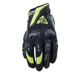 FIVE AIRFLOW EVO Motorcycle Glove -  Black / Fluro