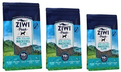 NEW Ziwi Peak Air-Dried Mackerel & Lamb for Dogs, available in 3 sizes