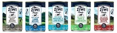 ZIWI Peak Canned Dog Food. 390 gram cans available in 5 flavours.