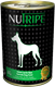 NuTripe Dog Food: 390 gram Cans with Green Tripe