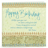 Heartsong Card - Happy Birthday-New Adventure