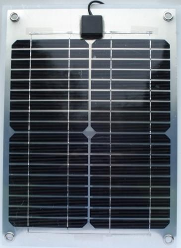 Semi Flexible Solar Panel 10 Watt 12 Volt Yacht Parts