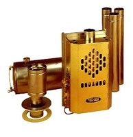 Taylors 079D Brass Diesel Heater - Pumped Tank Version