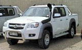 Airflow Snorkel Kit Mazda BT-50 2006 to 2011