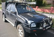 Airflow Snorkel Kit Holden Rodeo RA (with Swage)