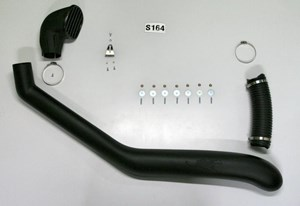 Airflow Snorkel Kit Isuzu D-Max 2002 to 2011