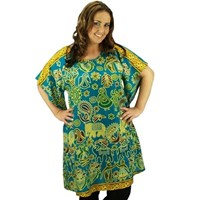 Jade Plus Size Swimwear Cover Up Dress Tunic Long Top