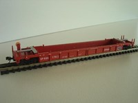 Walthers N/Scale Double Stack Car CP #524176 fitted with  acumate style couplings