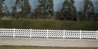 LMS Station  Fencing White 860mm