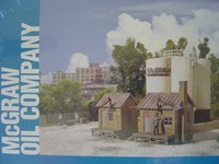 Walthers Cornerstone HO/Scale Kit McGraw Oil Company