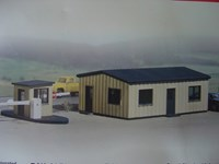 Walthers  Cornerstone HO/Scale Kit - Yard Office Kit
