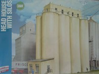 Walthers Cornerstone HO/Scale Kit Head House With Silos