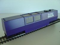 DAPB800 Dapol TRack Cleaner Wagon 00/HO Scale New Release