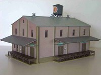 Walthers Cornerstone HO/Scale Built Up - Imperial Foods Building