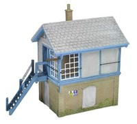 Bachmann Scenecraft OO/scale Derelict Signal Box
