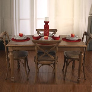 USA Oak Dining Tables - 'Brittany Collection'