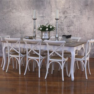 Nine Piece 2x1m Table Setting - 'Maison'