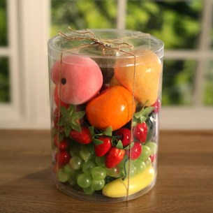 Fruit Salad Vase / Glass Jar Filler