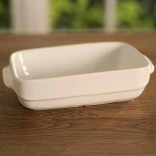 Ceramic Baking Dish White