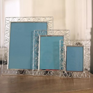 Filigree Metal Photo Frames - Three Sizes