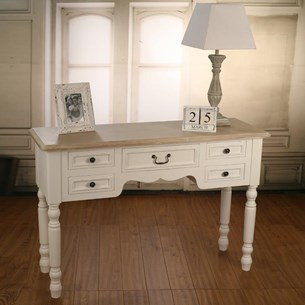 Desk Antique White - 'Hunter'