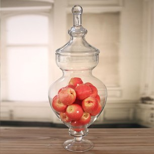 Glass Jar - 55cms