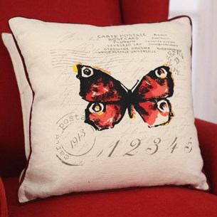 Butterfly Stamp Cushion