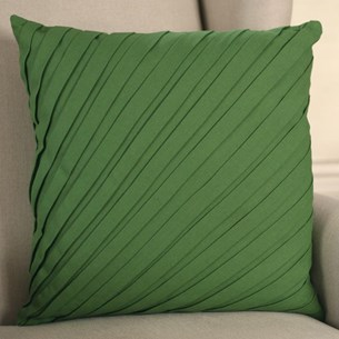 Pleated 'Moss' Cushion