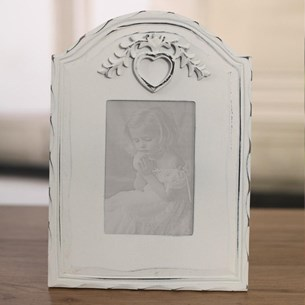 Rustic Heart Photo Frame 3.5x5