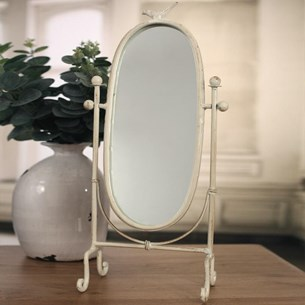 Oval Bird Mirror
