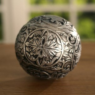 Silver Decor Ball