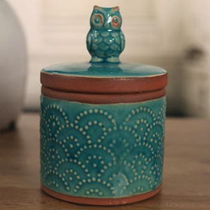 Midnight Owl Top Canister